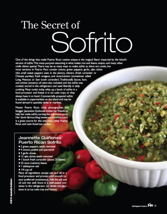 Puerto Rican Sofrito ©sazonboricua all rights reserved