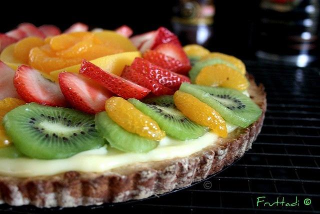 tarta de frutas casera