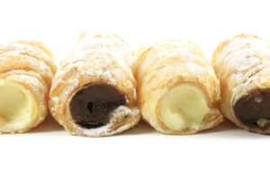 http://www.dreamstime.com/royalty-free-stock-photos-cream-filled-horn-pastries-image9656798