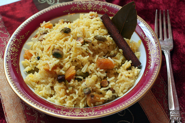 arroz pilaf con frutos secos 2