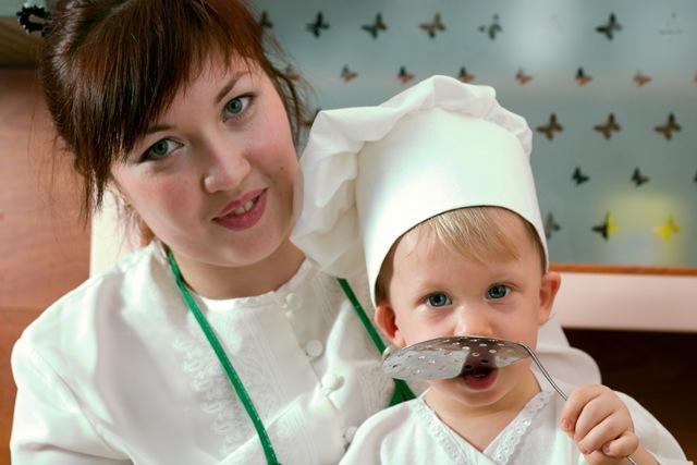Mes de concientización del síndrome de Down: Los niños y la buena alimentación.