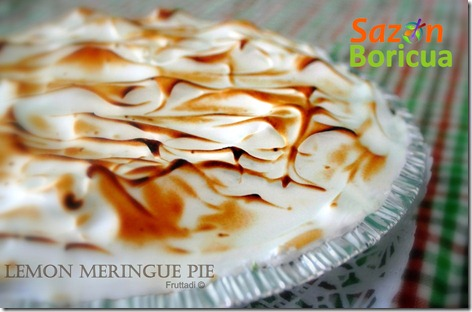 Lemon Merengue Pie.sazonboricia