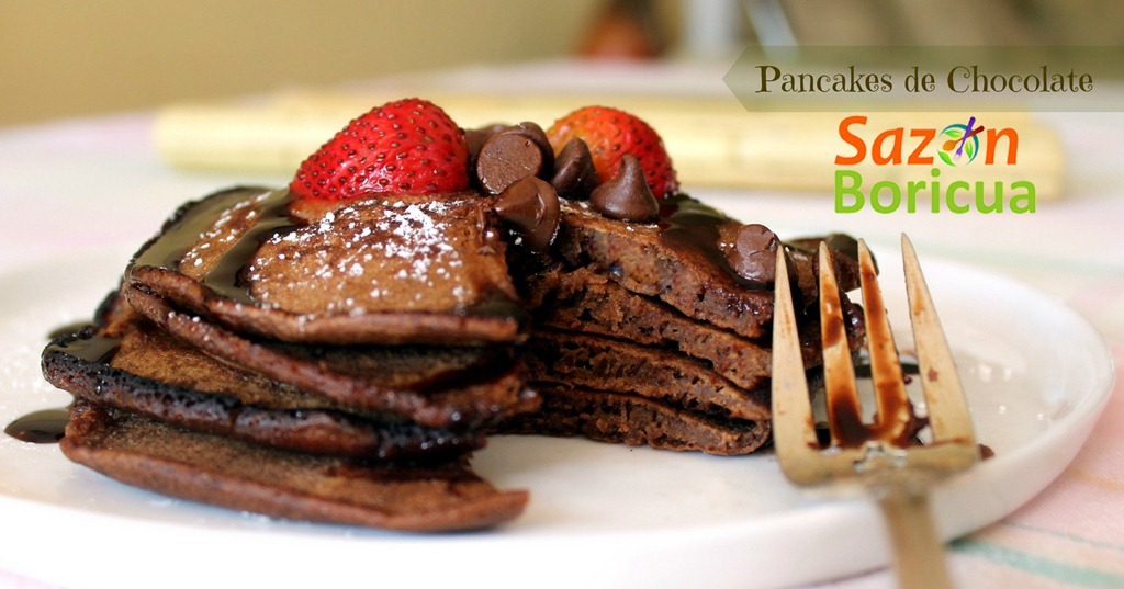 Pancakes de Chocolate