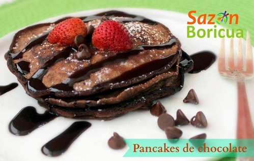 pancake de chocolate 2