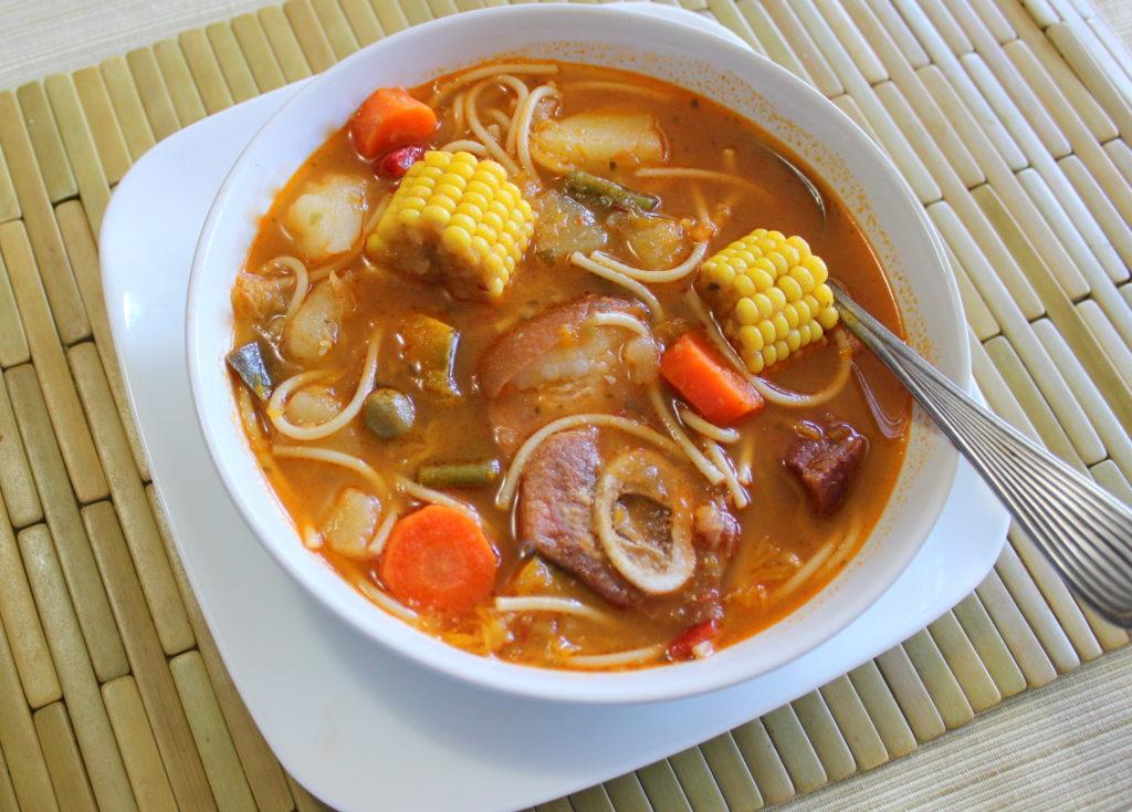 sopa de jamon y fideos 001