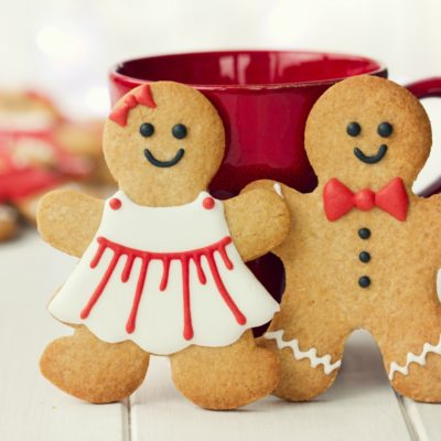 Galletas para regalar 3: Gingerbread boy