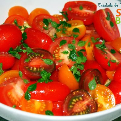 Ensalada de Tomates Heirloom