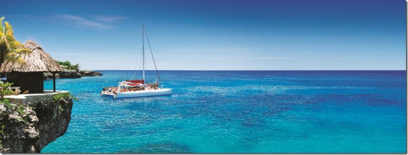 Ocean View with Catamaran